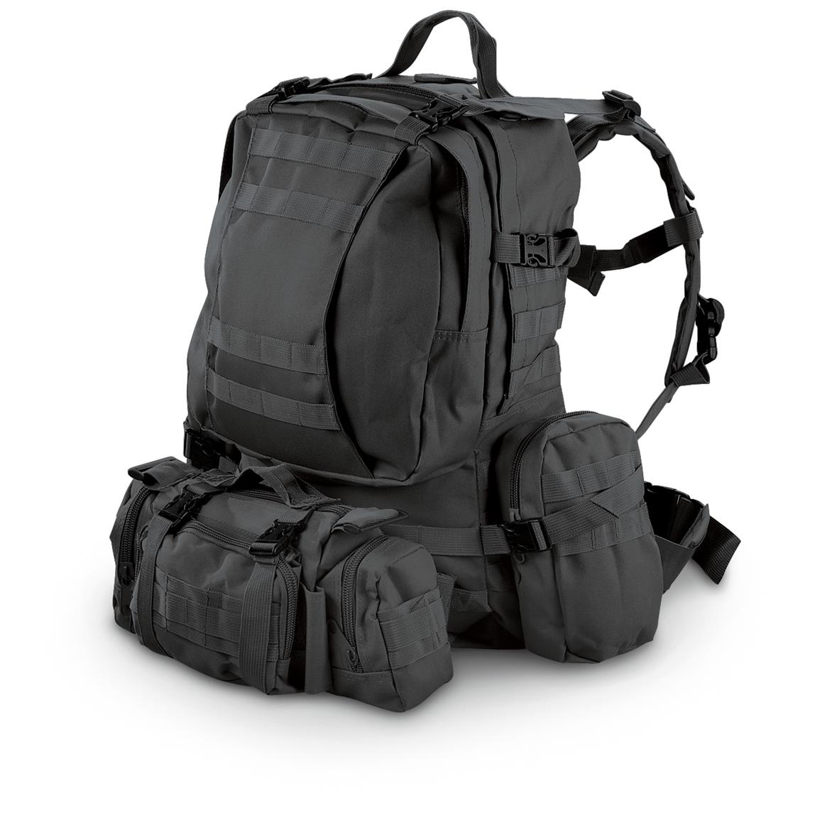 Black 3 Day Backpack