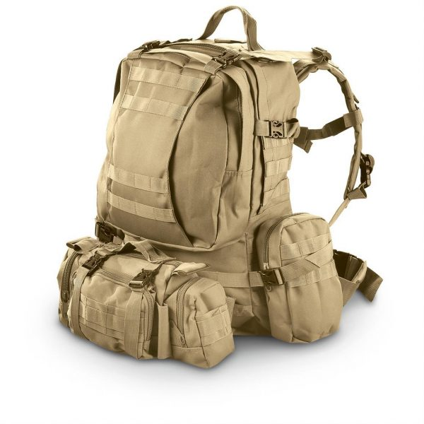 Tan 3 Day Backpack